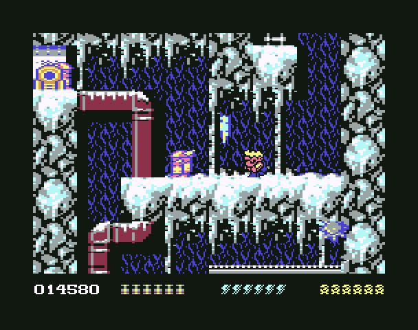 Rick Dangerous - Commodore 64 Version