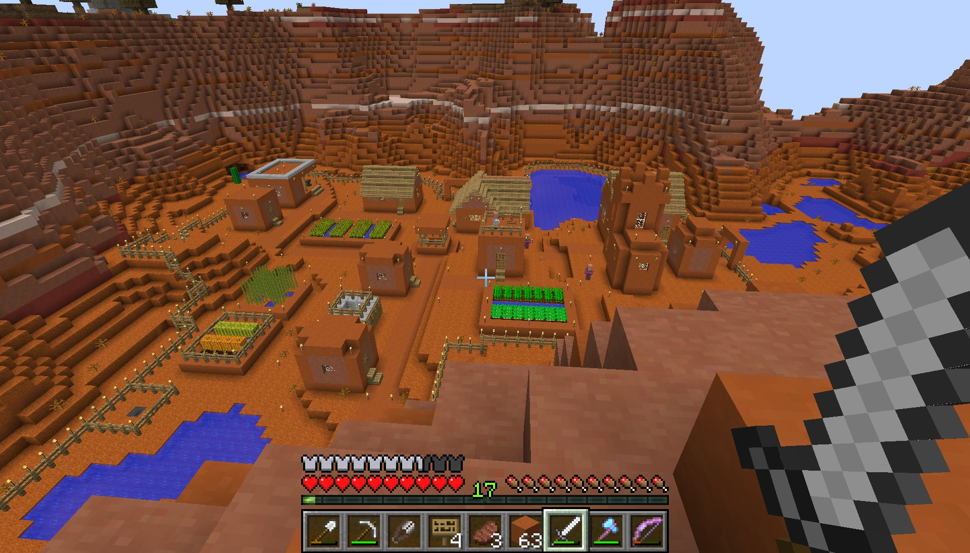 Mesa Minecraft House Viewing Gallery