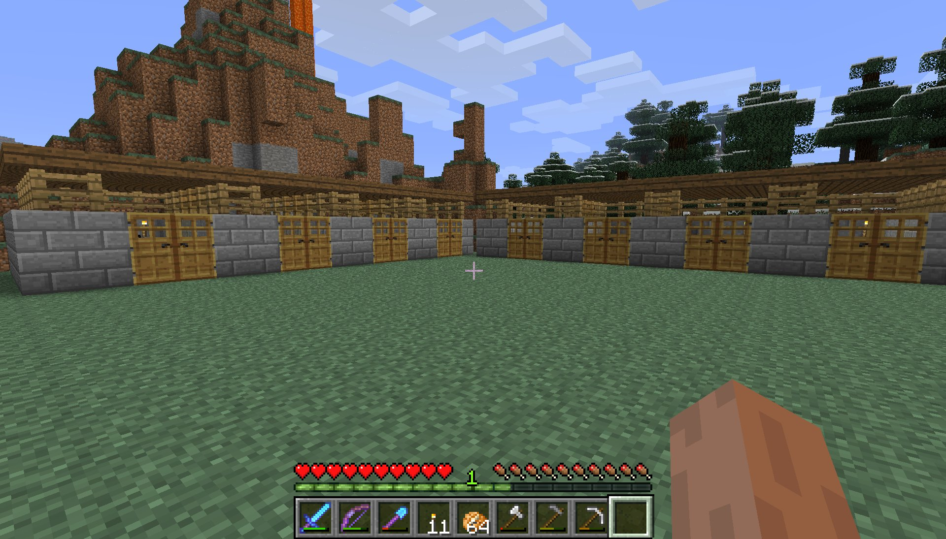The Diamond Hammer Minecraft With The Hammer Of Retribution