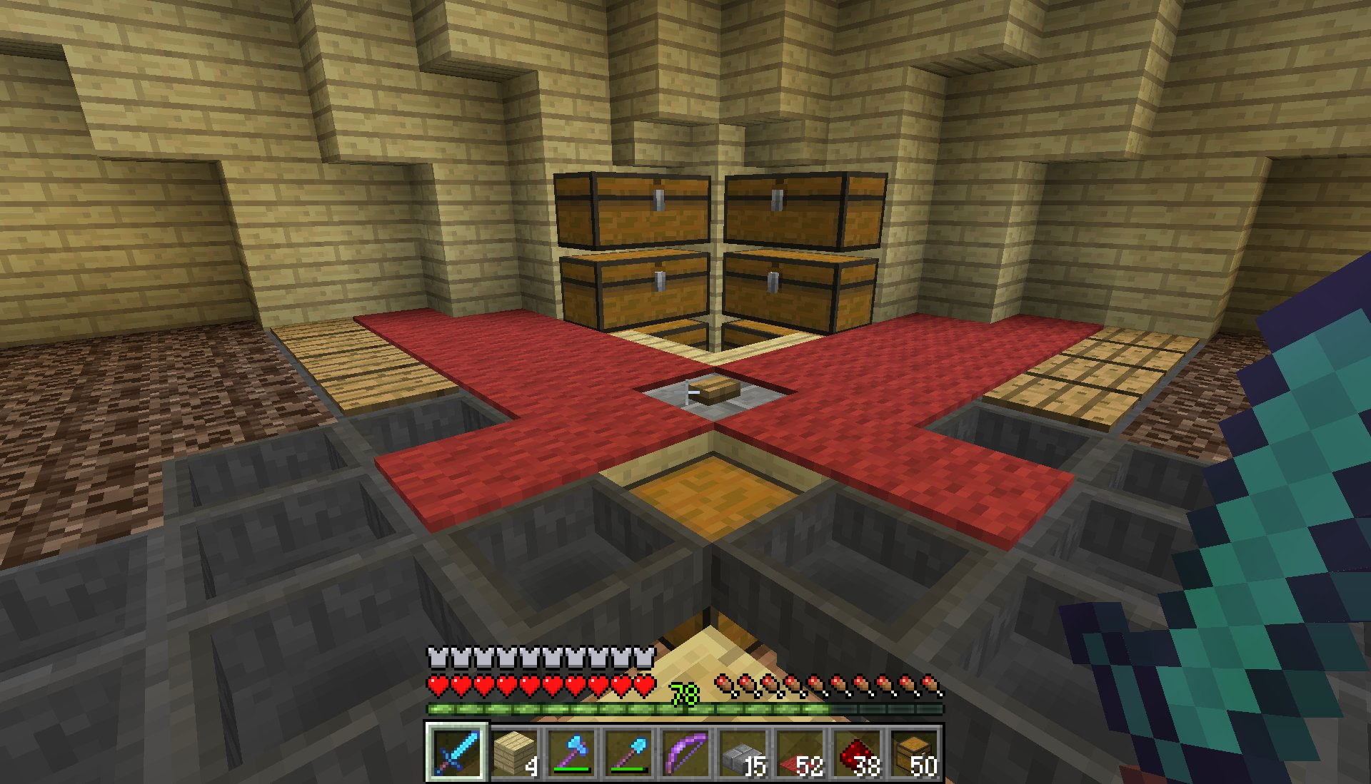 The Diamond Hammer: Minecraft with the Hammer Of Retribution