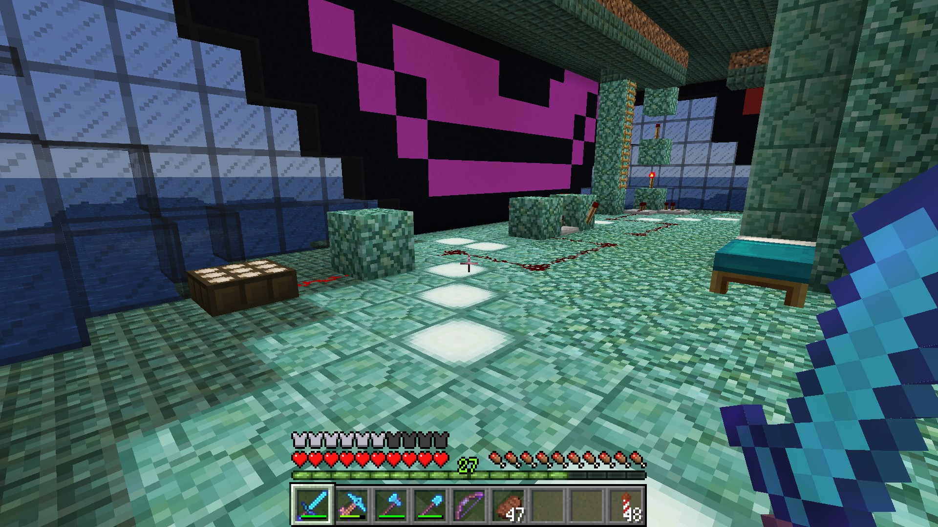 The Diamond Hammer: Minecraft with the Hammer Of Retribution