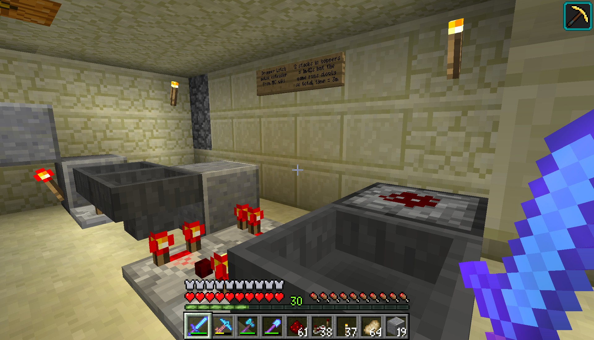 The Diamond Hammer Minecraft With Of Retribution Ogg Cast Wiki Redstone Circuits Now Into Circuitry And This Device Is A Pulse Extender I Found On Once Id Discovered My Usual Go To By Xisumavoid Wouldnt
