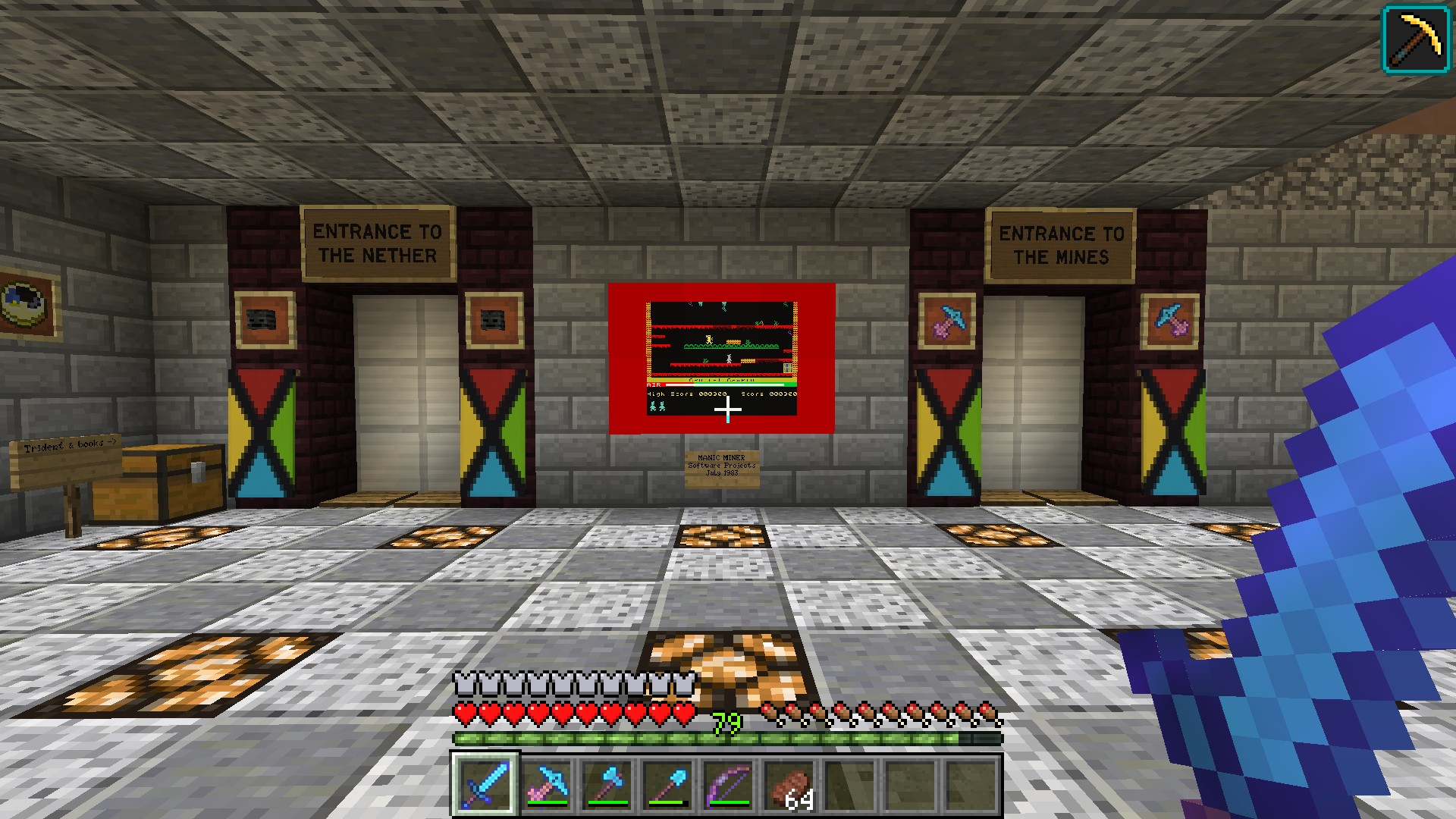 The Diamond Hammer Minecraft With The Hammer Of Retribution Ogg Cast