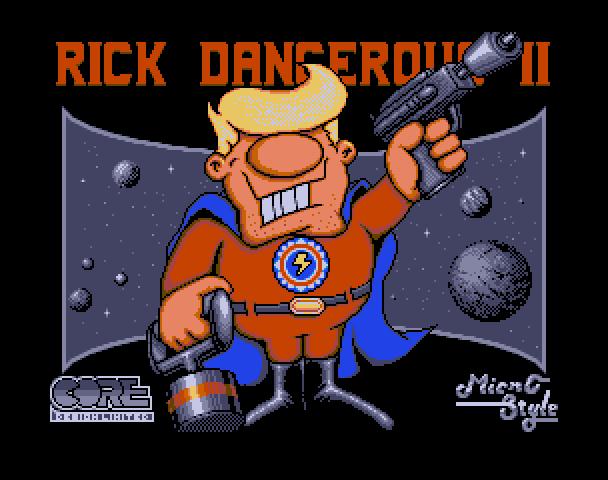 Rick Dangerous - Atari ST Version